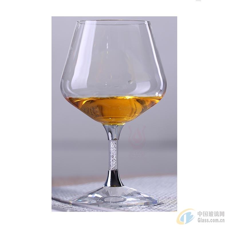 S03洋酒杯水晶底座矮脚杯高硼硅无铅酒杯