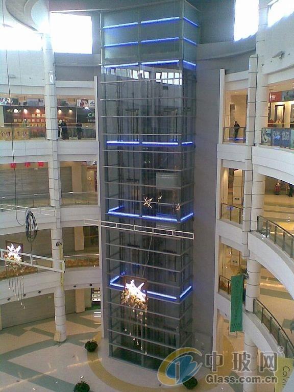 西安加装观光电梯玻璃 旧楼改造电梯
