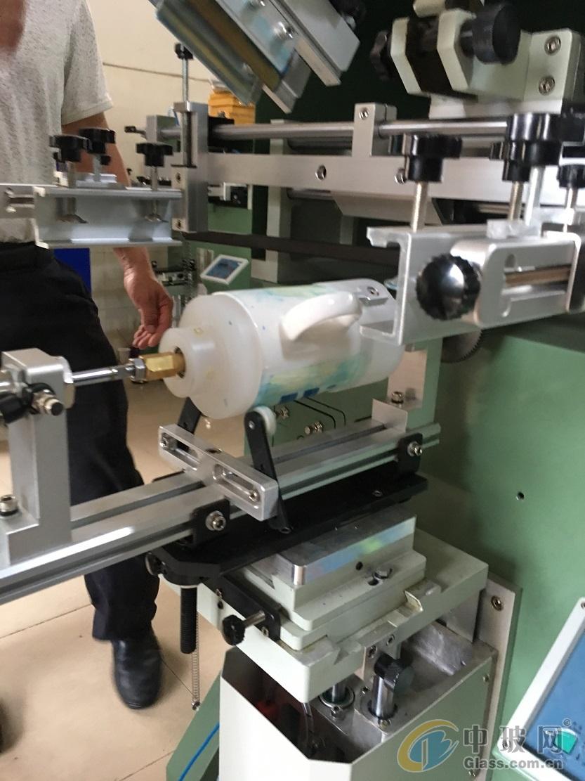马克杯滚印机玻璃杯丝印机保温杯丝网印刷机