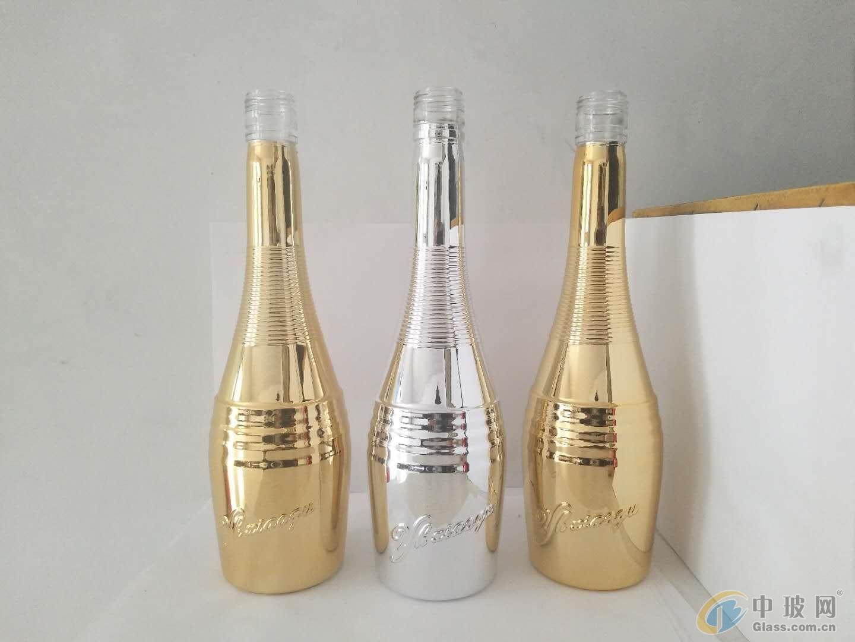 广州玻璃酒瓶电镀加工厂,广州白云区玻璃酒瓶电镀厂