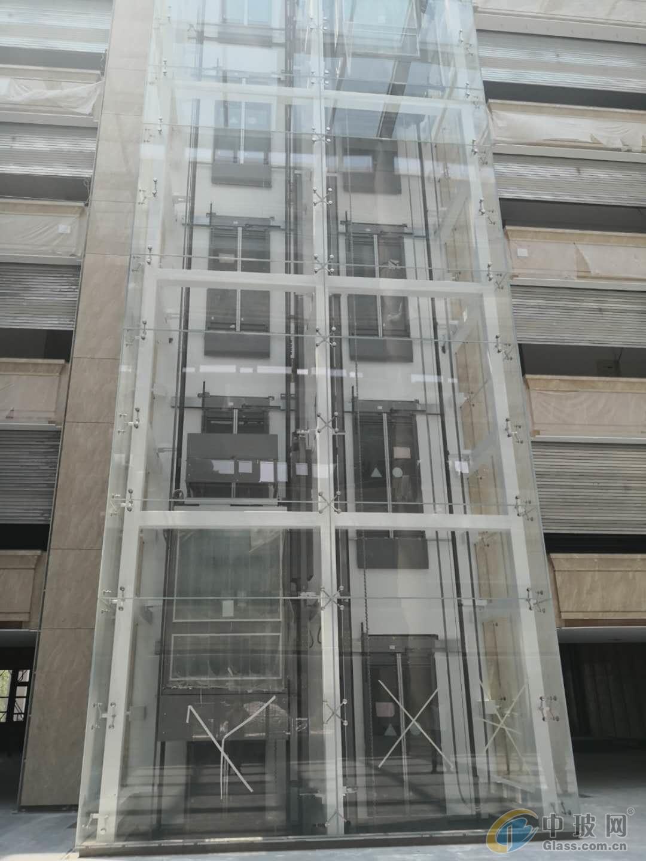 郑州5毫米6毫米小区车库雨棚夹胶钢化玻璃