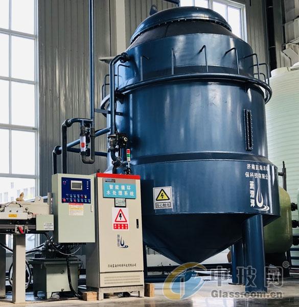 玻璃磨边污水处理设备