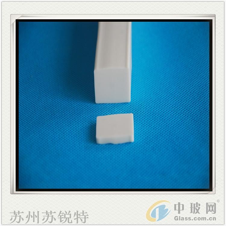 白色硅胶方形发泡防尘密封条