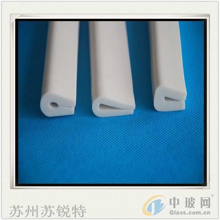 白色硅胶U型发泡防风密封条
