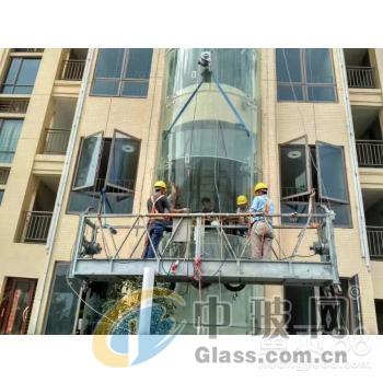 中山珠海台山钢化玻璃更换补漏