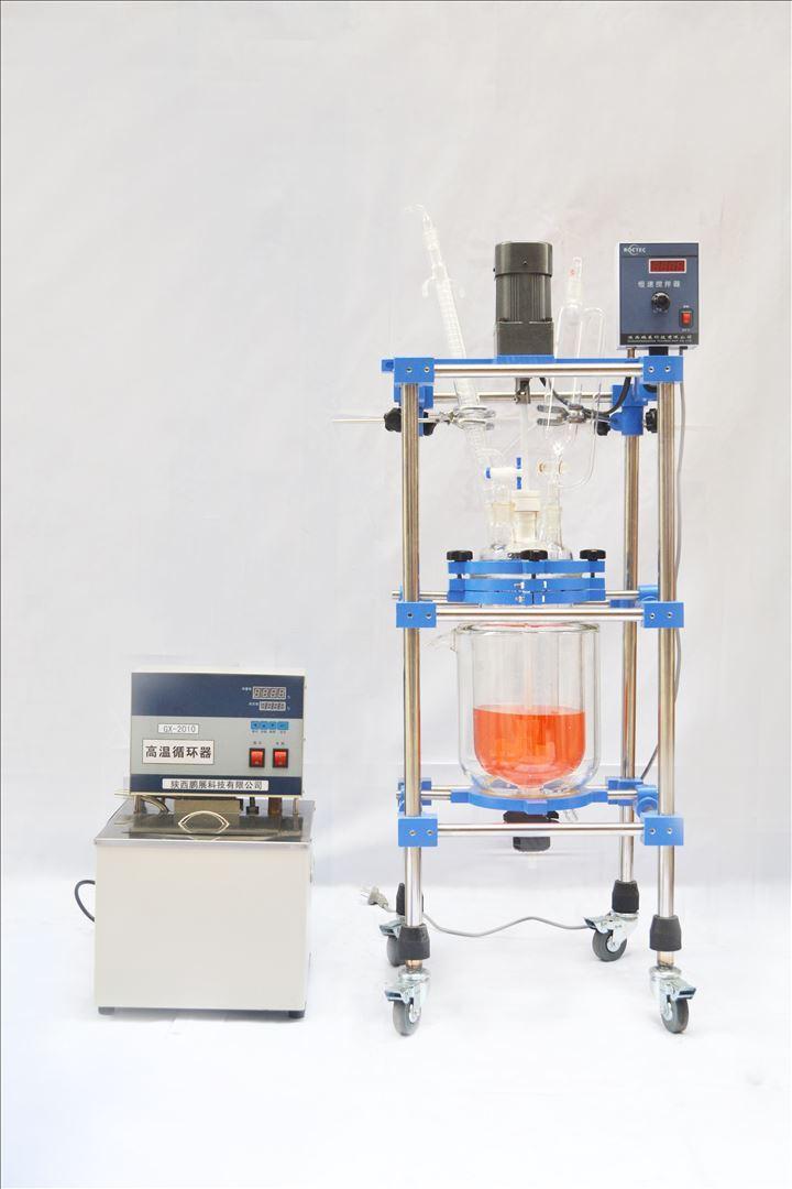 实验室型双层玻璃反应釜1L  2L  3L  5L