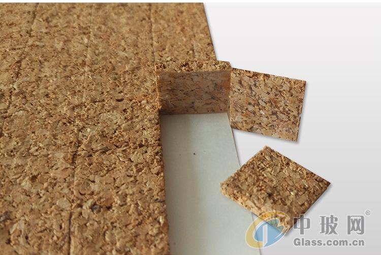 工厂直营玻璃深加工软木垫片EVA橡胶垫片