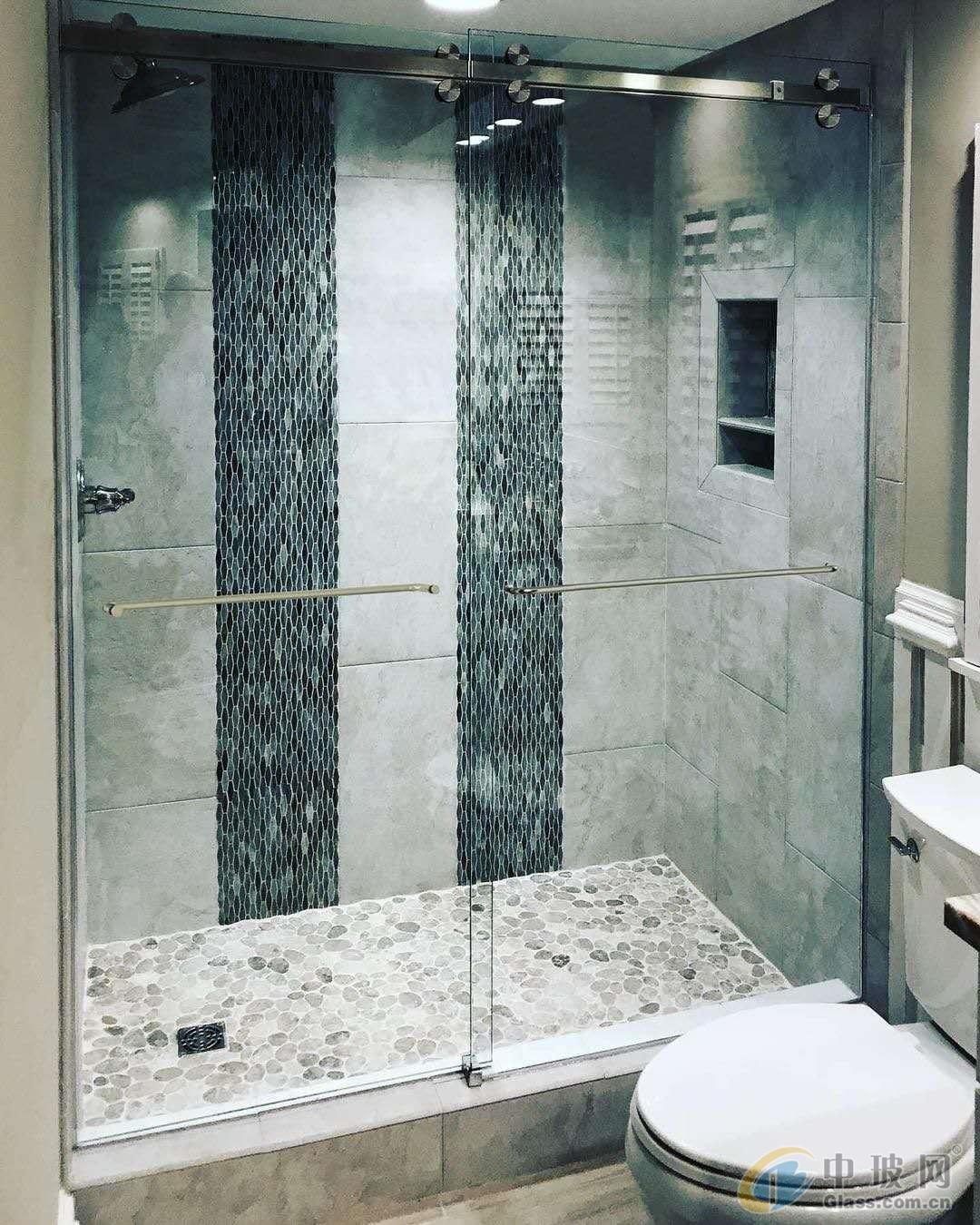 天津厂家批量生产淋浴房玻璃
