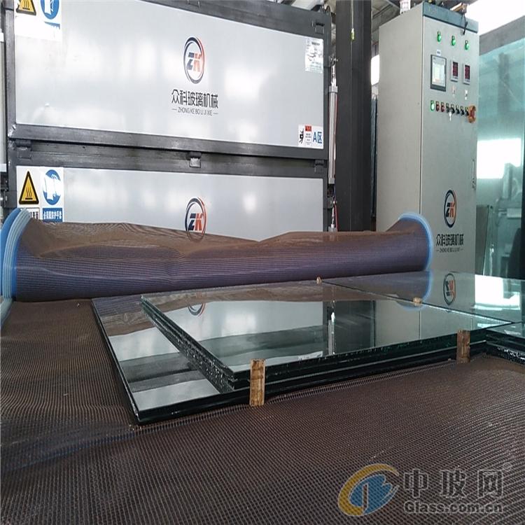 众科供应定制款玻璃夹胶炉 产量高 不流胶 2021新款