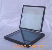 供应高透蓝灰镀膜玻璃