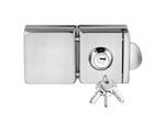 供应玻璃门锁-DC-207方形双门