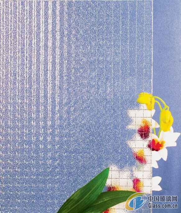 供应压花玻璃--香梨夹丝