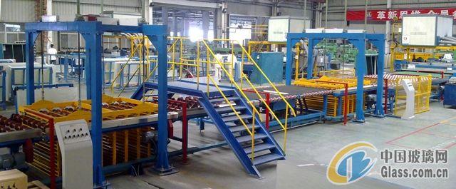 光伏玻璃深加工自动化联线 玻璃机械厂家