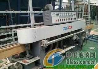 供应二手玻璃机械、迪威全新直线圆边机、七磨头