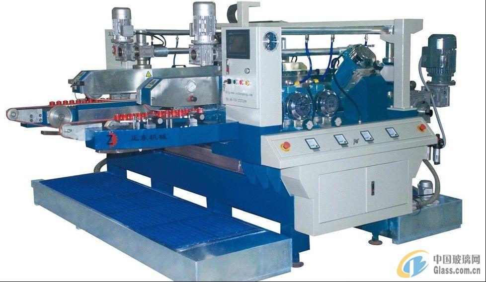 二手玻璃机械、直线双边磨机(九成新,保修半年)