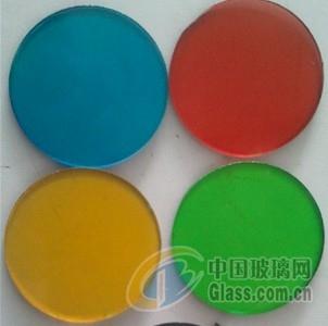 彩色玻璃(强化或钢化)