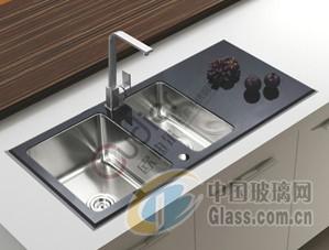 厨卫用钢化玻璃面板