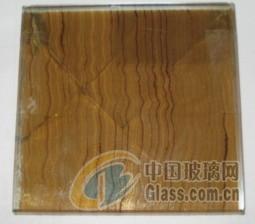 玻璃胶片或夹丝材料