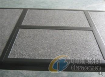 宁波采购-喷石粉钢化玻璃