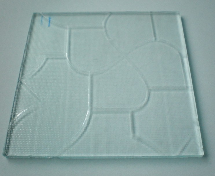 厦门采购-4T白玻压花玻璃