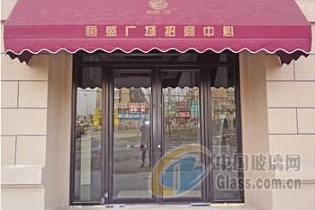 连锁店地弹门 商铺专项使用门安装