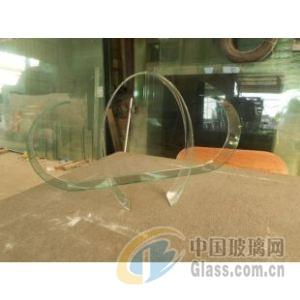 供应两头半圆形热弯玻璃