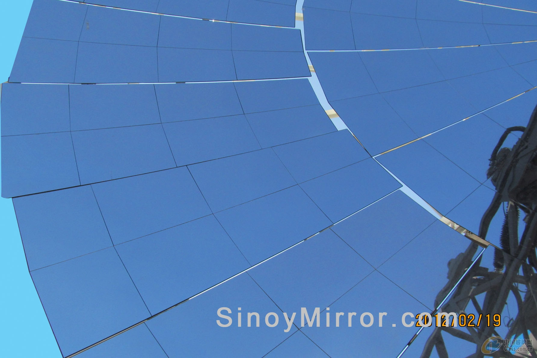 厂家供应1.1mm太阳能聚热反光镜