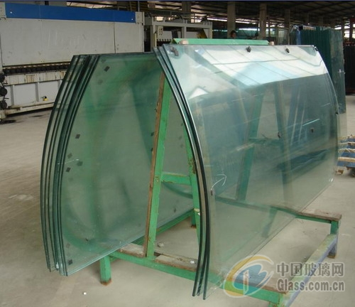 弯钢化夹层玻璃
