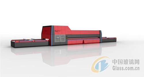 5-横弯型玻璃平钢化生产线