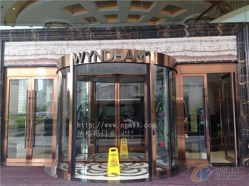 转门多少钱,五星酒店进口旋转门
