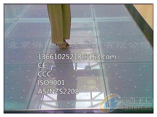 30mm(夹层)超白玻璃楼板