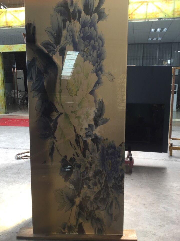 【骅驰】艺术夹画玻璃厂家直销
