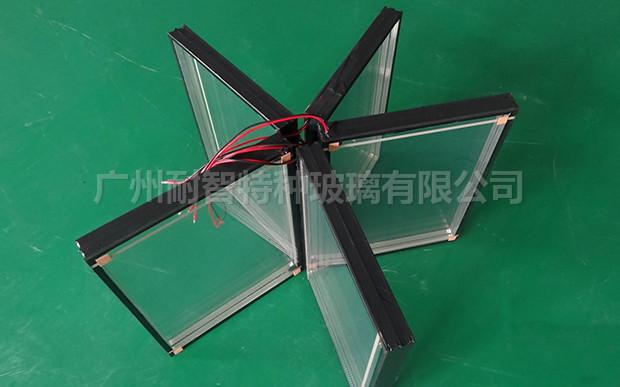 特种玻璃中空防雾电加热玻璃
