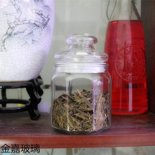 八角储藏罐带盖杂粮干果储物罐