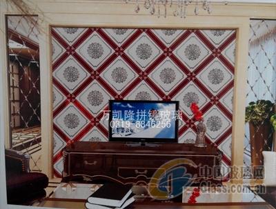 花海碧影-拼镜背景墙的价格