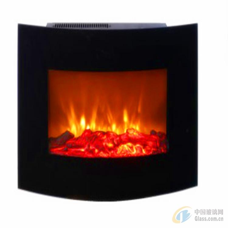 壁炉玻璃 耐高温玻璃 弯钢玻璃