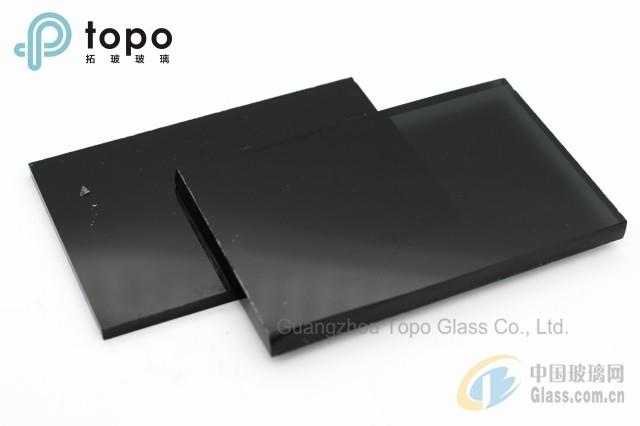 黑色浮法玻璃