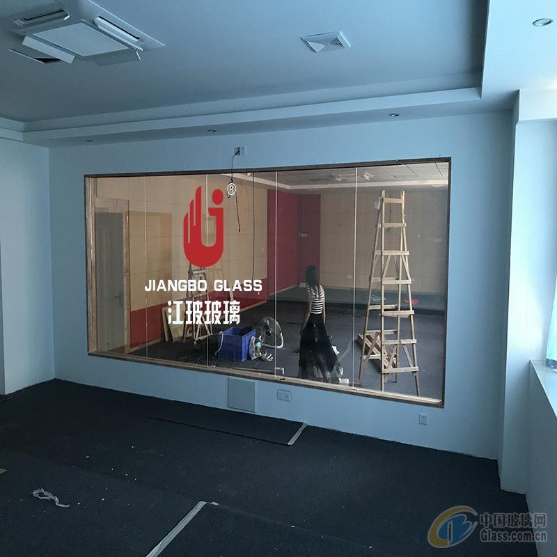 供应高品质单向透过玻璃 学校录播教室玻璃