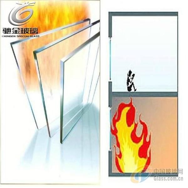 广州 驰金 供应5-19mm单片高度度防火玻璃60-180分钟