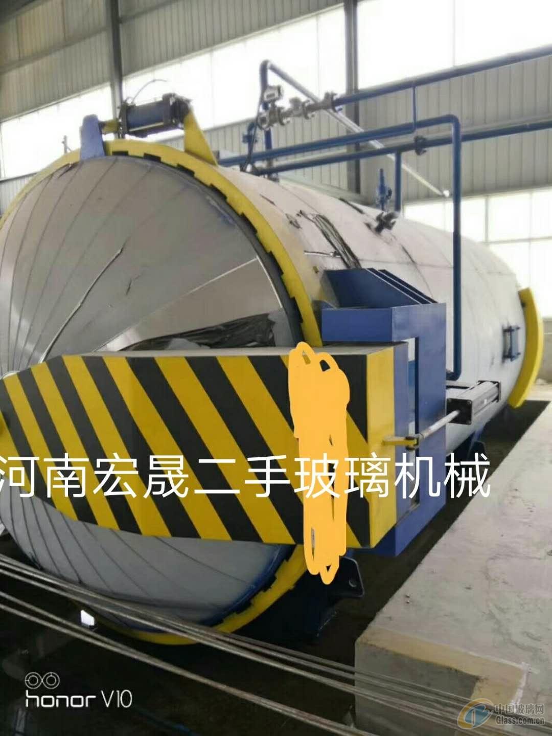 出售九五成新辽宁北方2850乘以6000高压釜一台
