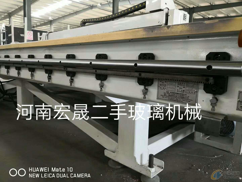 出售朝阳4028双驱双翻四工位切割机一台