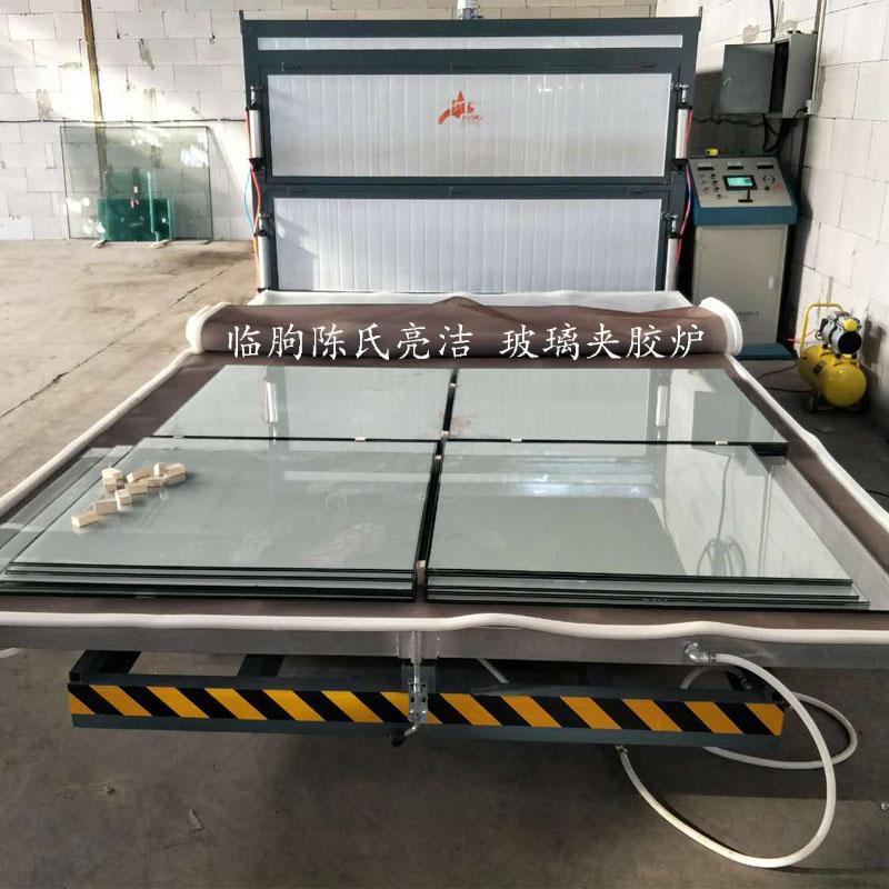 夹胶炉夹层玻璃生产线