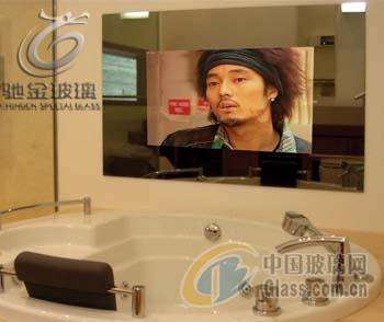 驰金 优质广告镜面玻璃 魔术镜面玻璃