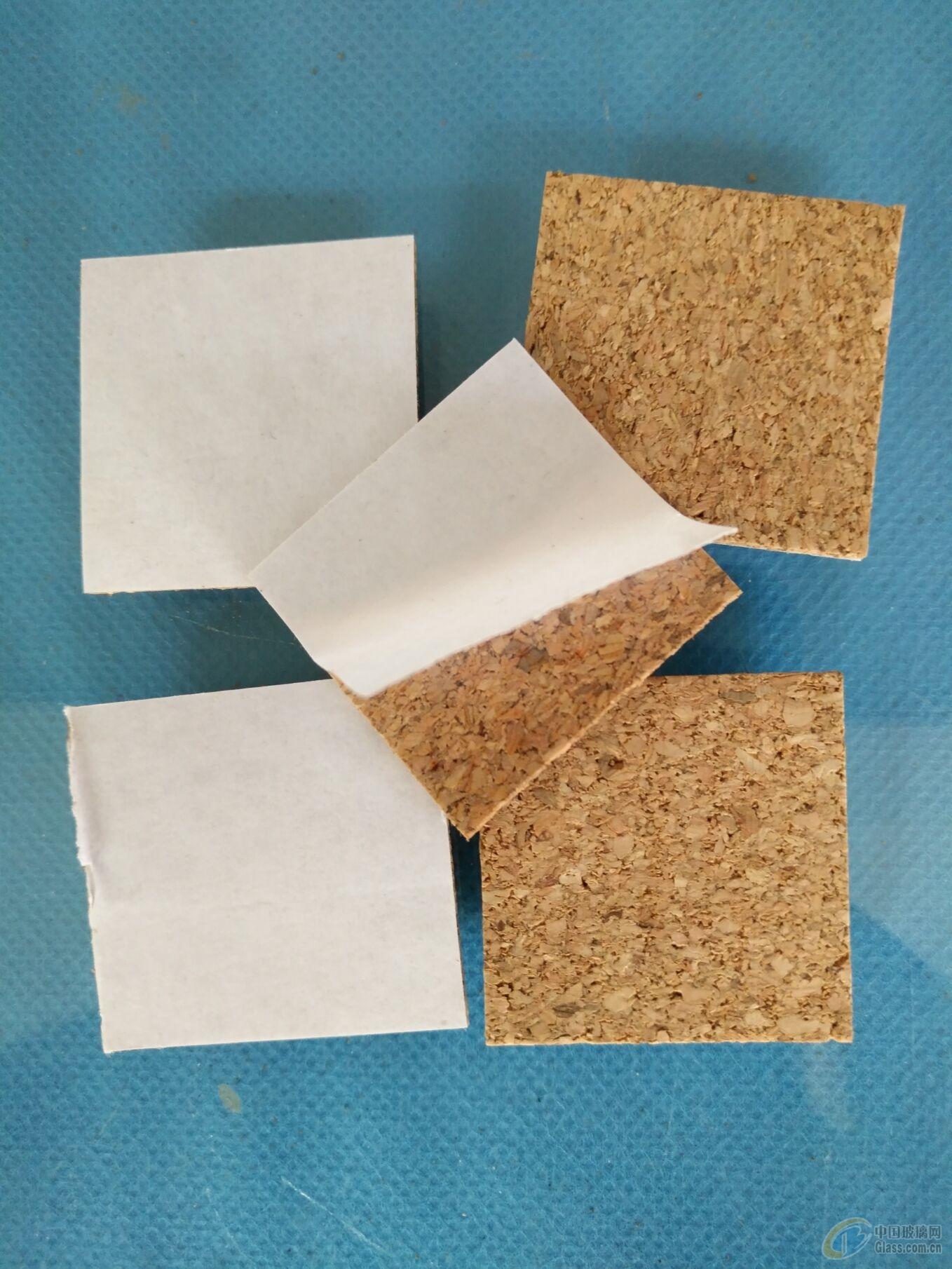 昆明玻璃软木垫 带胶垫 背胶垫厂家生产