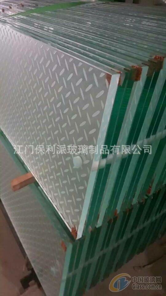 高透防滑玻璃 深加工透明防滑玻璃