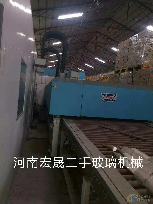 出售同昌1600*2500连续钢化炉一台