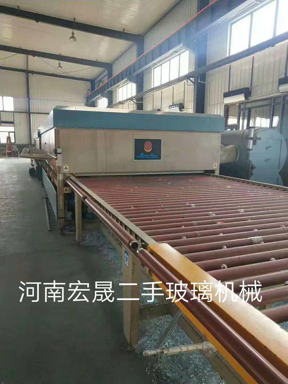 出售洛阳北玻2440*5米对流钢化炉一台