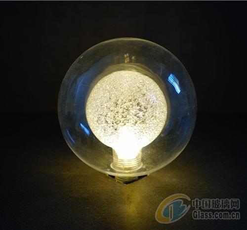 玻璃灯罩 120球中球内烤砂