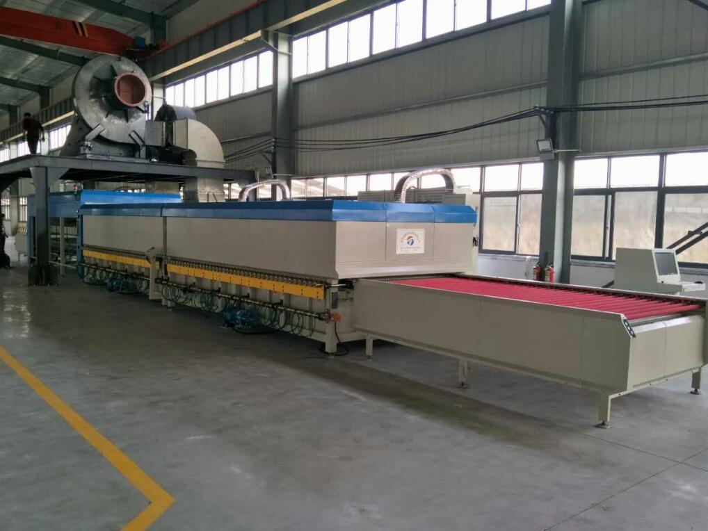供应水平式玻璃钢化设备