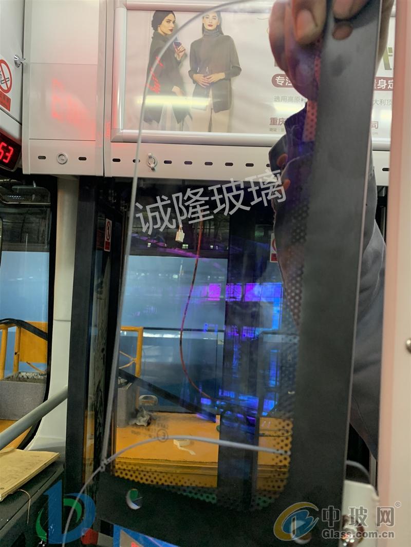 公交车司机包围玻璃|5mm厚透光率98%以上|减反射玻璃